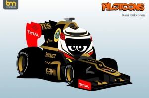 2012_Pilotoons_Lotus_Raikkonen