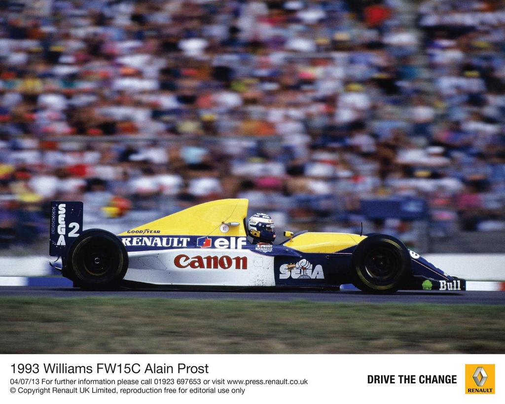 1993-Williams-FW15C-Alain-Prost